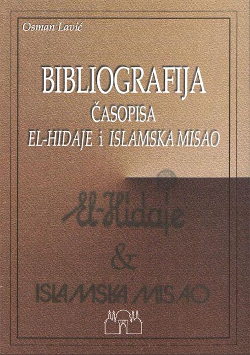 Bibliografija El-Hidaje i Islamska misao