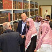 Dr. Sa'd bin Nasir eš-Šisri u posjeti Biblioteci