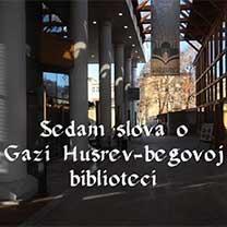 Sedam slova o Gazi Husrev-begovoj biblioteci