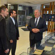 Ataše za kulturu ambasade IR Iran u BiH posjetio Gazi Husrev-begovu biblioteku