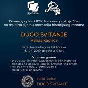 """Promocija knjige """"Dugo svitanje"""" autora Halida Kadrića"""