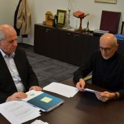 Predsjednik Sabora Islamske zajednice u Bosni i Hercegovini gosp. Hasan Čengić posjetio Gazi Husrev-begovu biblioteku