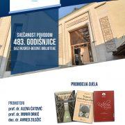 Svečanost povodom obilježavanja 483. godišnjice Gazi Husrev-begove biblioteke u Sarajevu