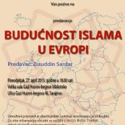 """Budućnost islama u Evropi"" Ziauddin Sardar"