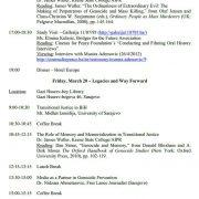 Vesatijja i Aušvic institut iz SAD organiziraju seminar o prevenciji genocida i masovnih zločina