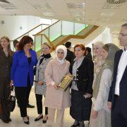 Gospođa Emine Erdogan u Gazi Husrev-begovoj biblioteci