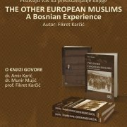 "Promocija knjige ""The other european muslims: A bosnian experience"""