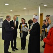 Gospodin Jan Figel u posjeti Gazi Husrev-begovoj biblioteci