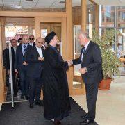 Ajatolah Sayed Hassan Mostafavi Homeini održao predavanje u GHB