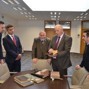 Gazi Husrev-begovu biblioteku posjetio premijer Kantona Sarajevo