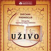Uživo – Promocija Monografije Gazi Husrev-begove biblioteke – Srijeda, 11.10.2017.