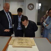 Zamjenik ministra NR Kine Zhang Yantong posjetio biblioteku
