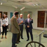 Zamjenik šefa Delegacije EU u BiH Khaldun Sinno posjetio Gazi Husrev-begovu biblioteku