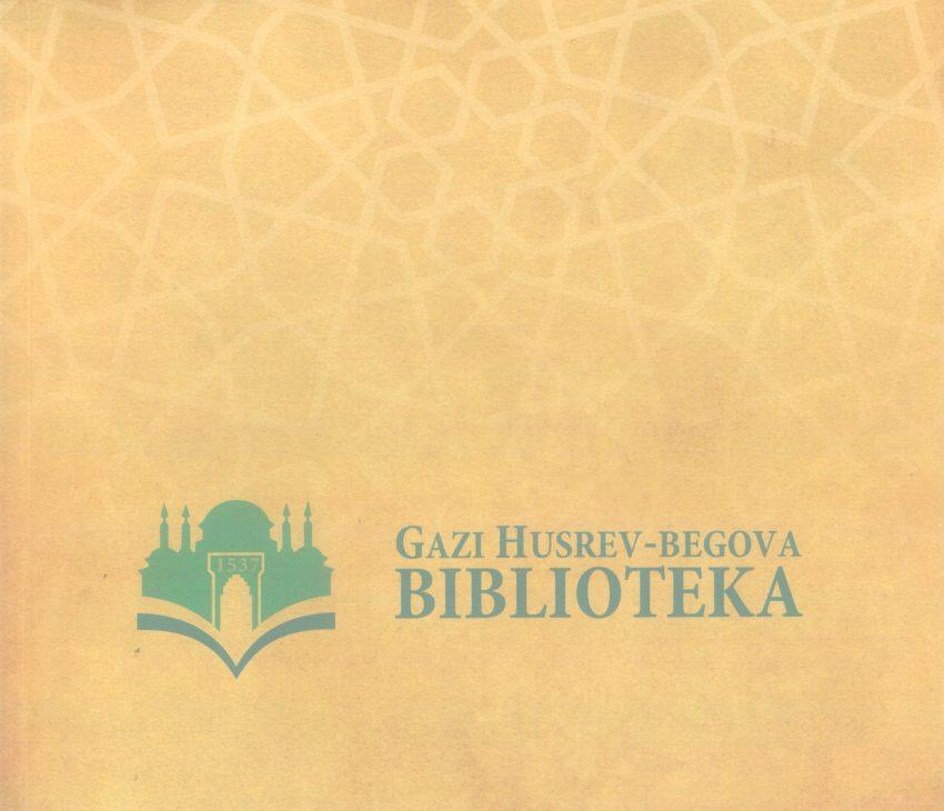 Prospekt Gazi Husrev-begove biblioteke