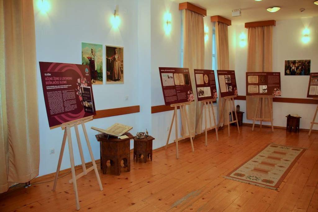 Otvorena izložba: Učene žene u Leksikonu bošnjačke uleme