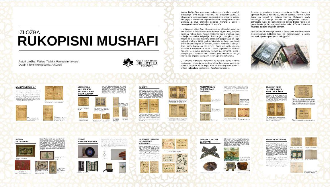 Izložba Rukopisni mushafi