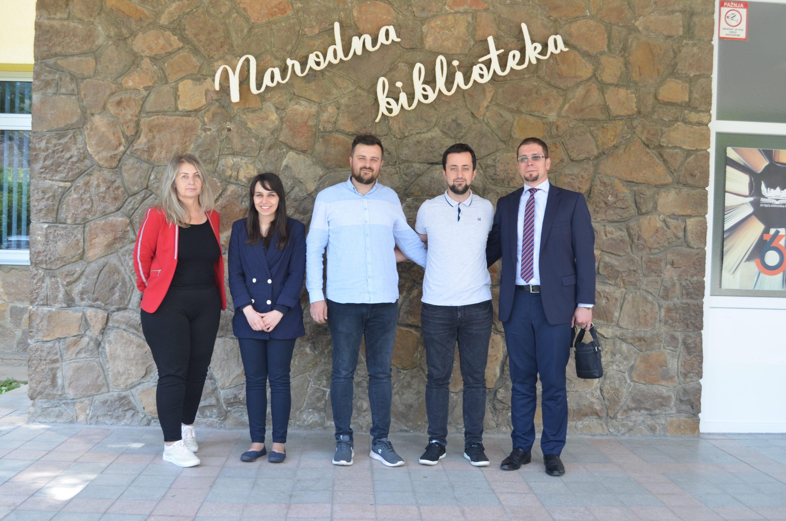 Posjeta uposlenika Gazi Husrev-begove biblioteke bibliotekama u Zenici i Maglaju