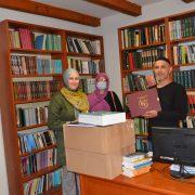 Uposlenici Gazi Husrev-begove biblioteke u radnim posjetama bibliotekama u Konjicu i Mostaru