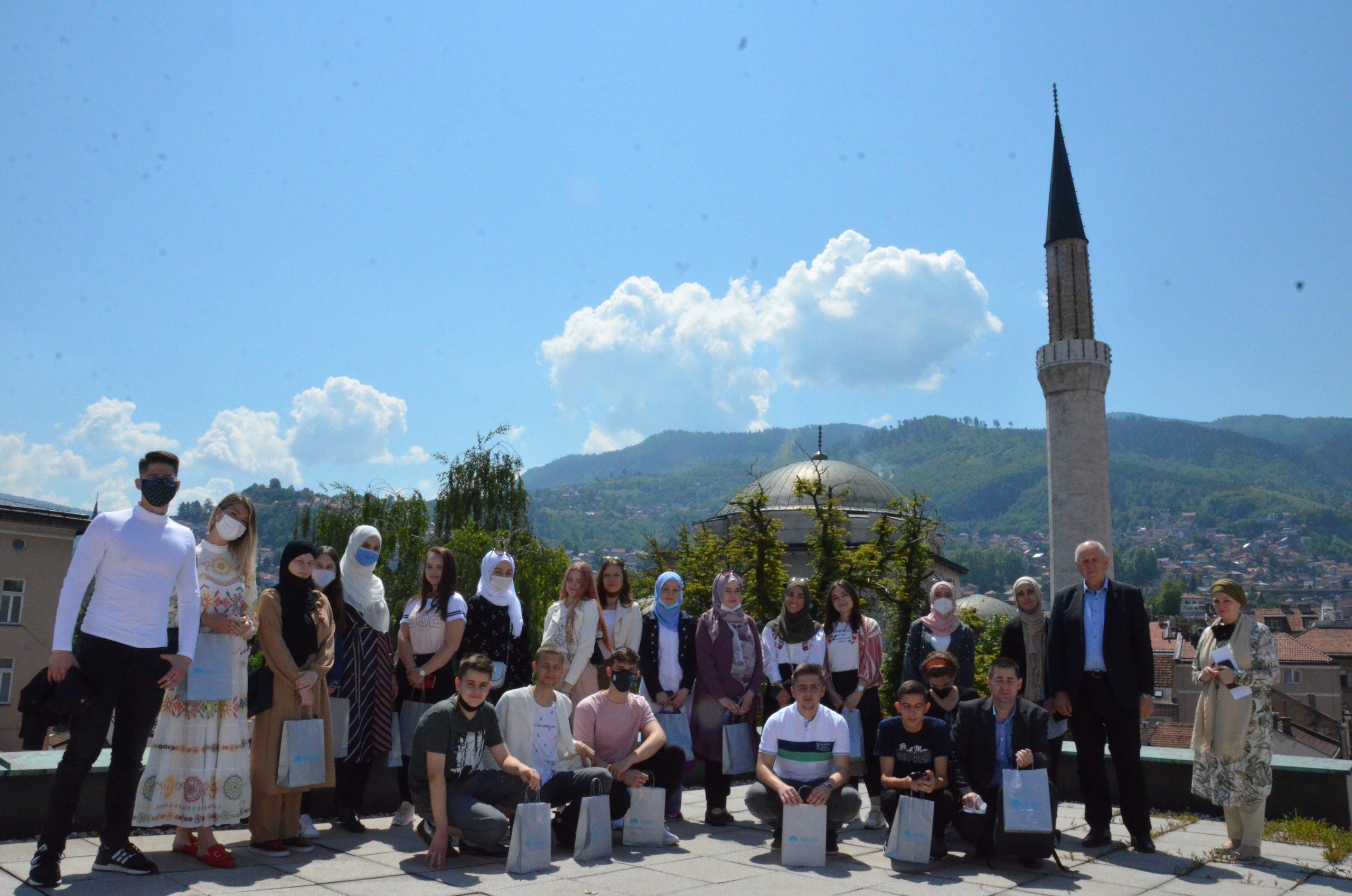 Posjeta polaznika Škole islama za mlade iz Tuzle