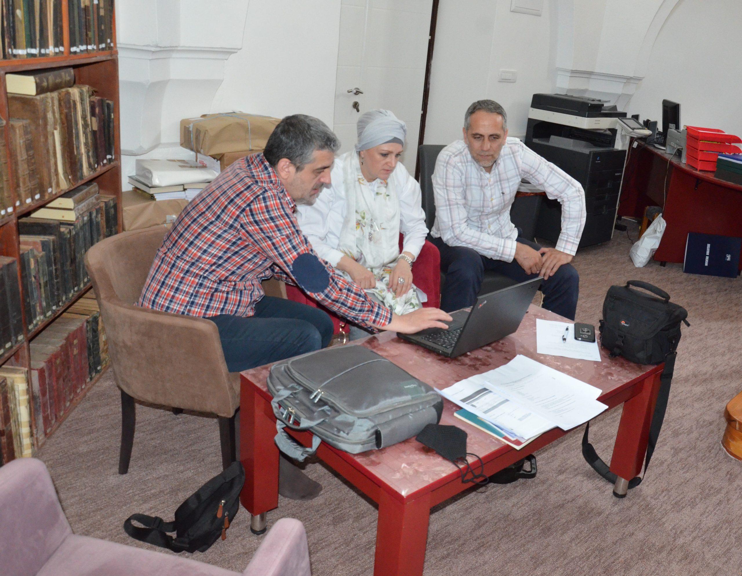 Radna posjeta Biblioteci Elči Ibrahim-pašine medrese u Travniku