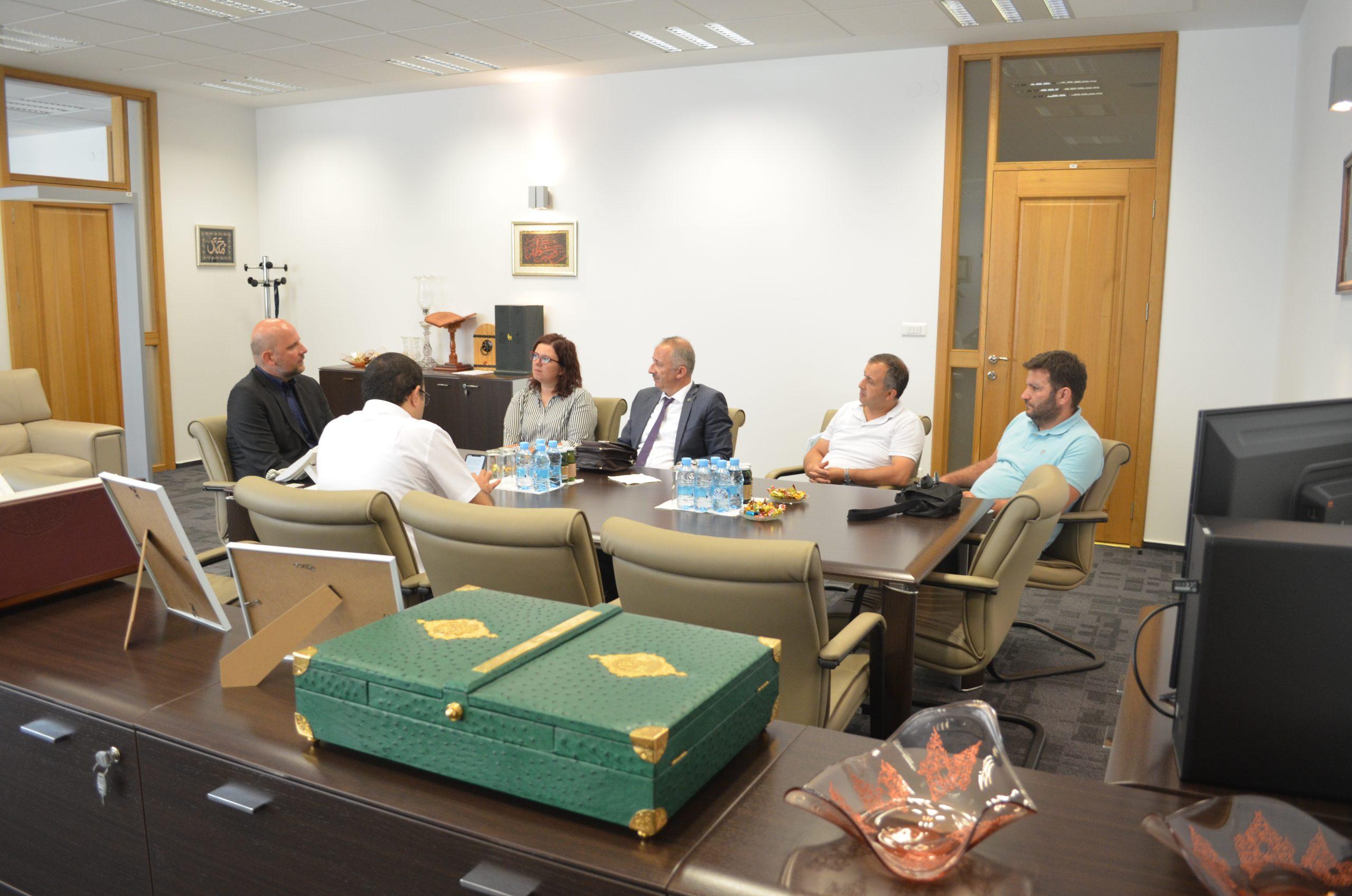 Posjeta direktora Državnog arhiva Republike Turske Gazi Husrev-begovoj biblioteci u Sarajevu