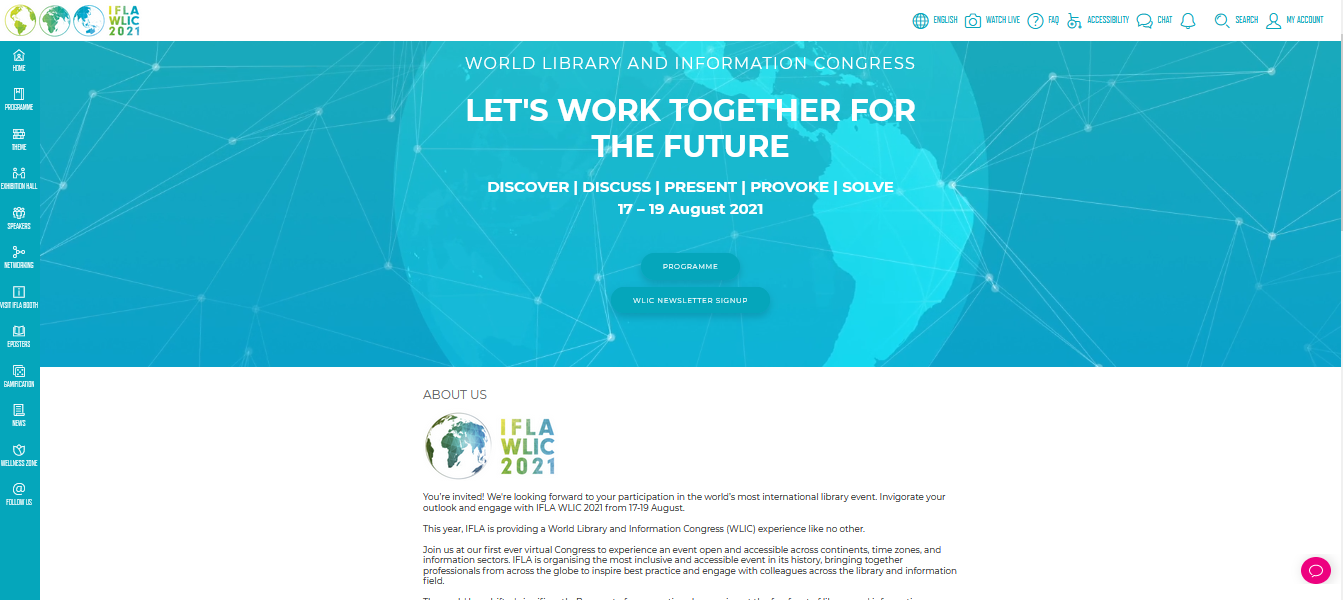 Gazi Husrev-begova biblioteka na IFLA konferenciji – WLIC 2021